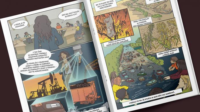 Hrdinovia klímy komiks