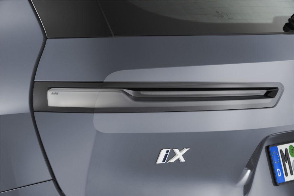 BMW iX elektrické SUV elektromobil