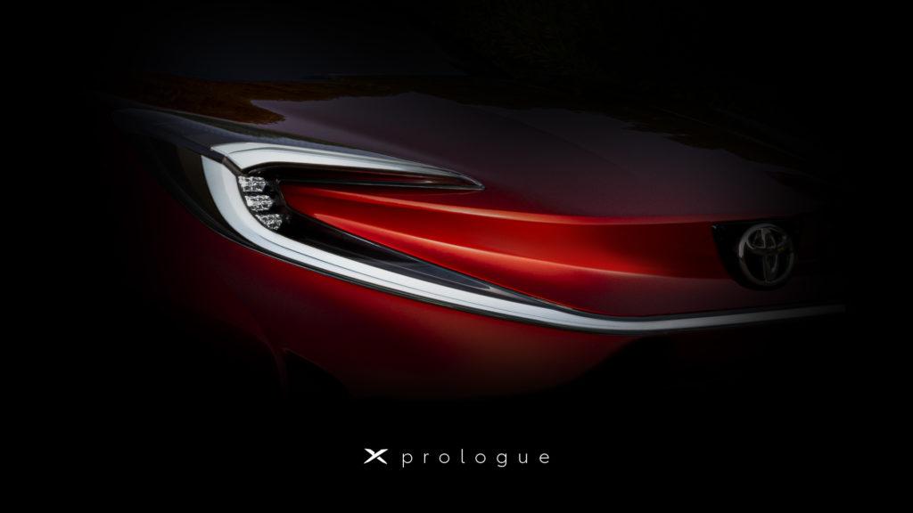 Toyota X Prologue elektromobil