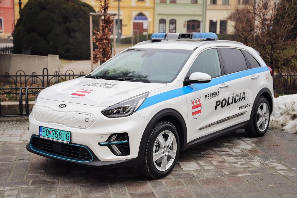 Mestská polícia mesta Prešov - elektromobil (Foto: Mesto Prešov)