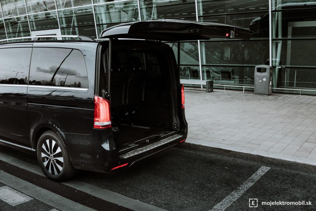 Mercedes Benz EQV TEST