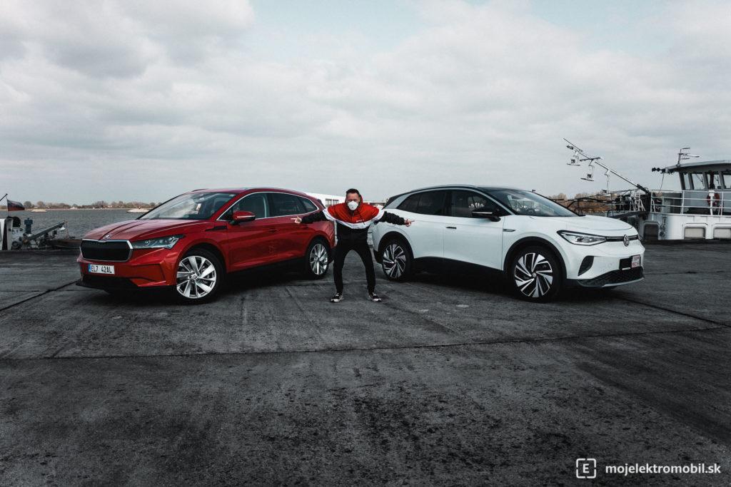 Škoda Enyaq IV 80 DUEL TEST