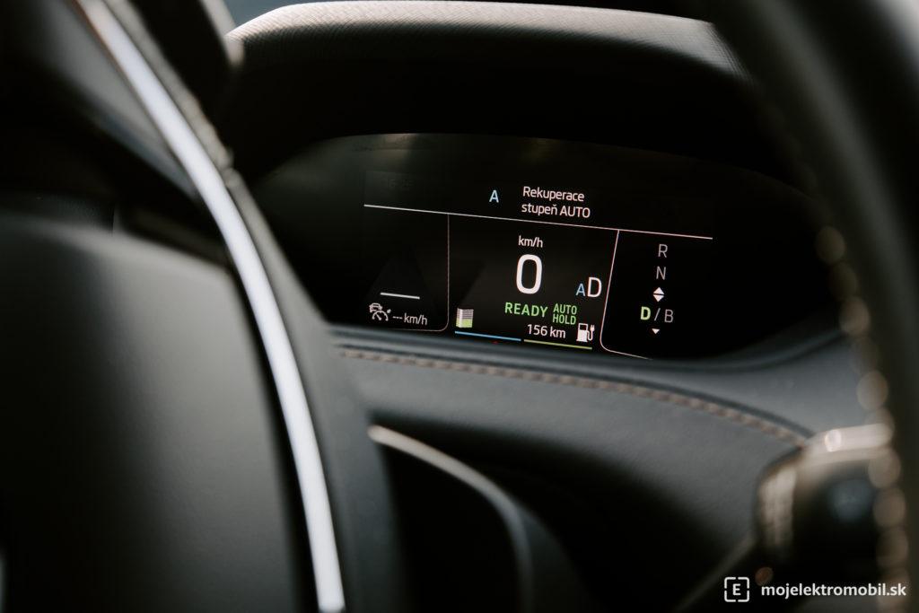 Škoda ENYAQ iV 80 prvá jazda