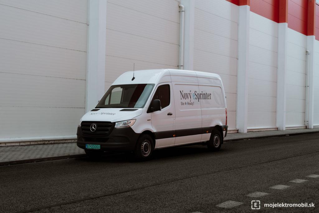 Mercedes-Benz E-Sprinter TEST