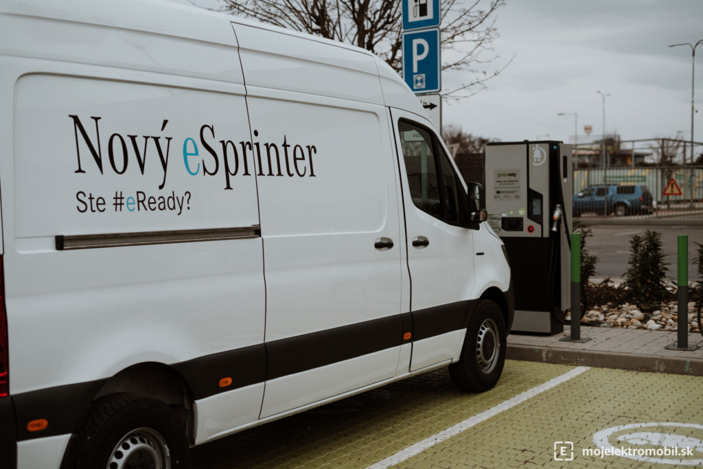 Mercedes-Benz E-Sprinter TEST