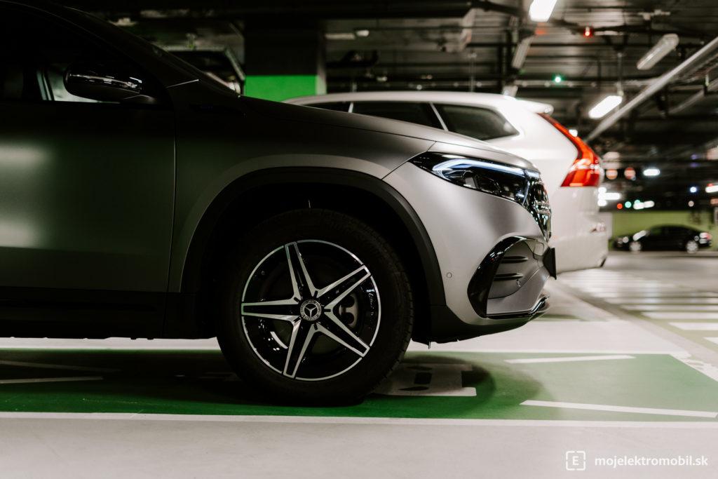 Mercedes EQA TEST PRVE DOJMY