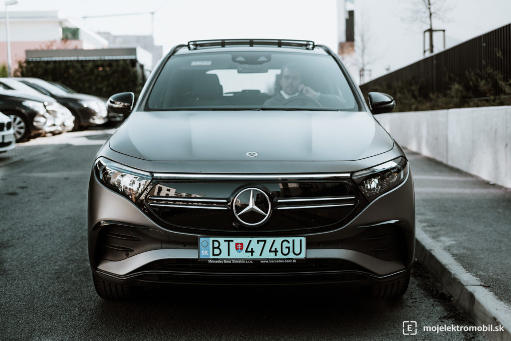 Mercedes EQA TEST PRVE DOJMY prvá jazda