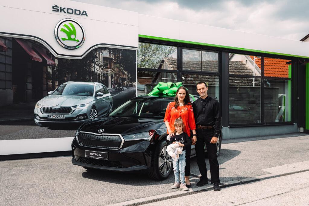 Škoda Enyaq iV odovzdanie prvý majiteľ
