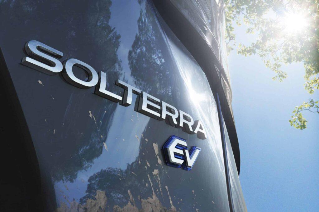 Subaru Solterra elektrické suv