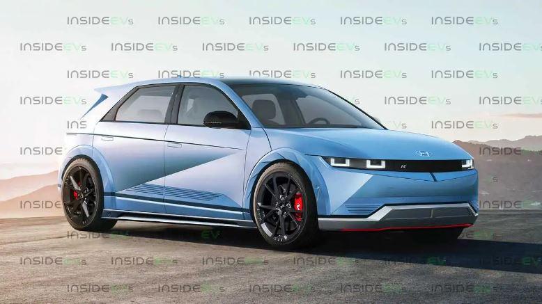 Športový elektromobil Hyundai N - Hyundai Ioniq 5 (Foto: InsideEVs)