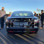 Nové označenie Tesla Model S Plaid (Foto: IG/@klwtts)