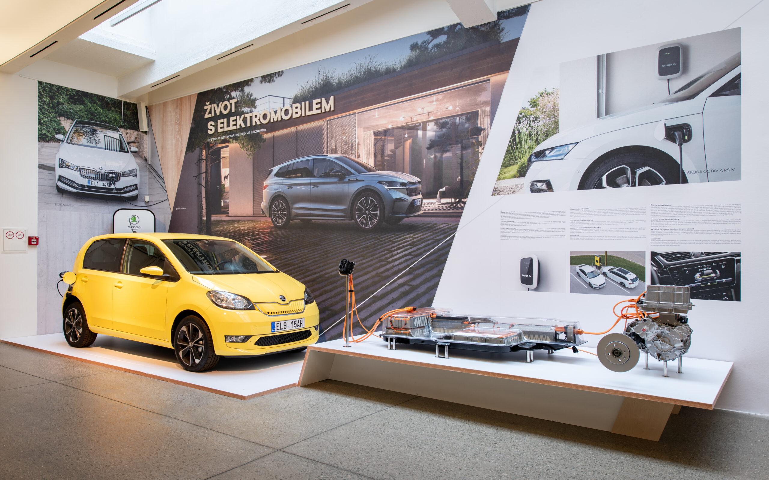 Škoda Citigoe iV a platforma pre elektromobily MEB (Foto: Škoda)