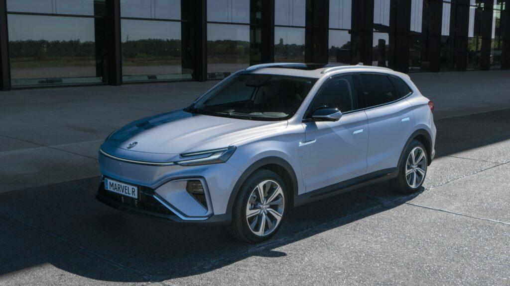MG Marvel R čínsky elektromobil