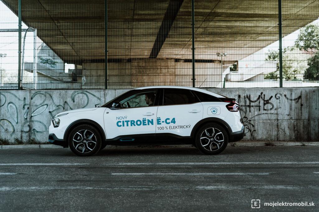 Citroen e-C4 TEST