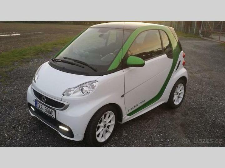 Smart ForTwo Electric elektromobily z bazáru