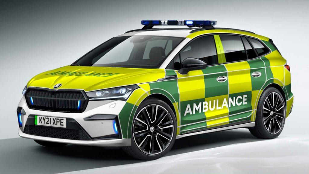 Škoda Enyaq iV záchranné autá