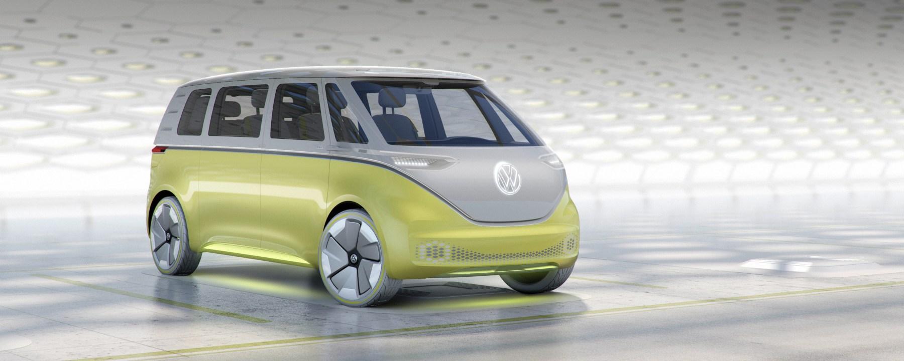 Volkswagen ID.Buzz v troch variantoch(Foto: VW)