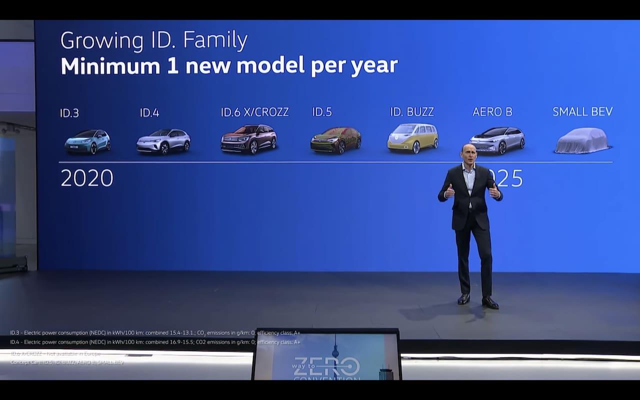 Rodina elektromobilov VW ID | Foto: Topelectricsuv.com