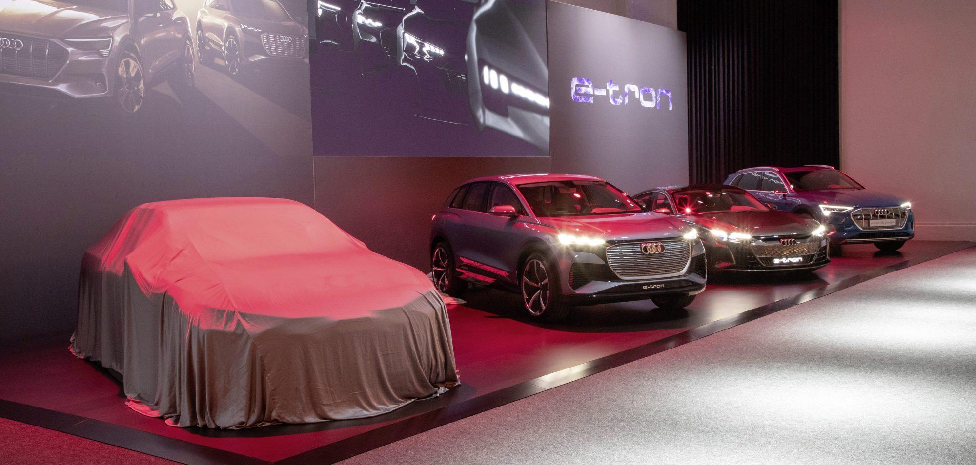 Audi elektromobil Artemis (Foto: Daniel Wollstein/Audi)