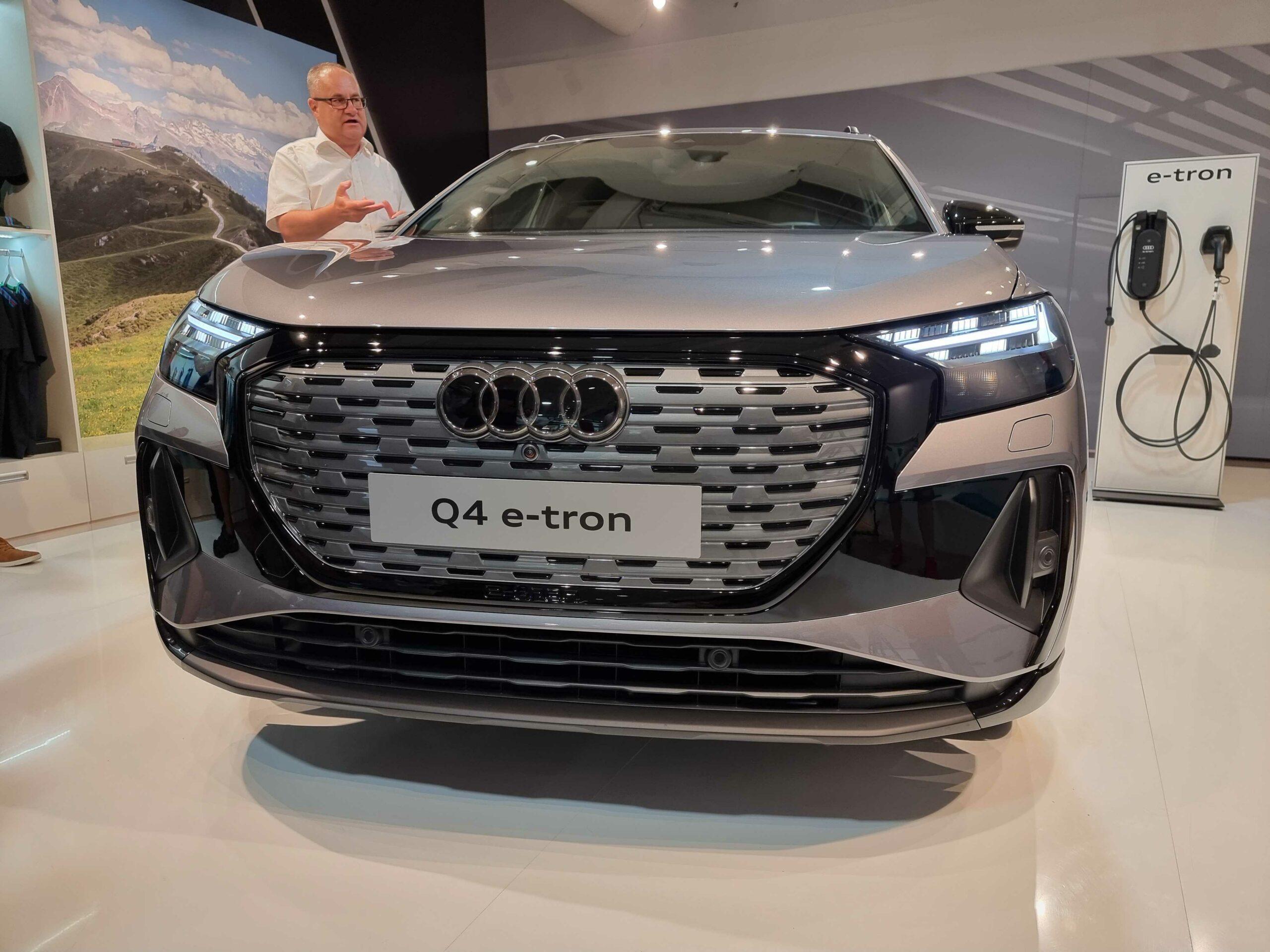 Audi Q4 e-tron Ι Foto: Redakcia