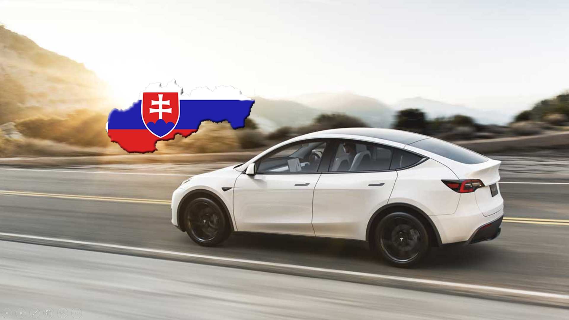 Tesla Model Y na Slovensku Ι Foto: Tesla / úprava redakcie