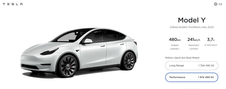 Tesla Model Y v Európe (Zdroj: Tesla)