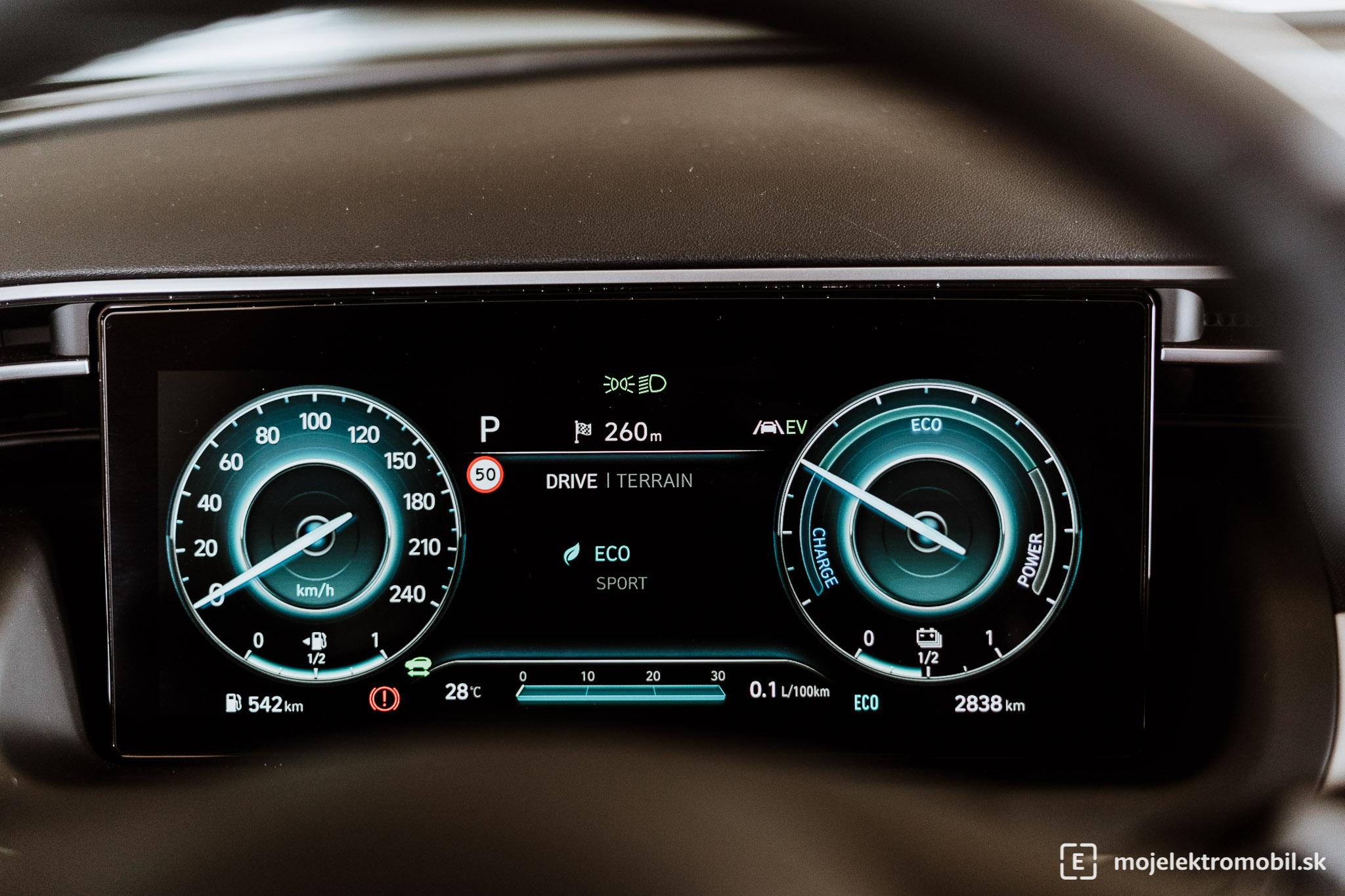 Hyundai Tuscon PHEV TEST