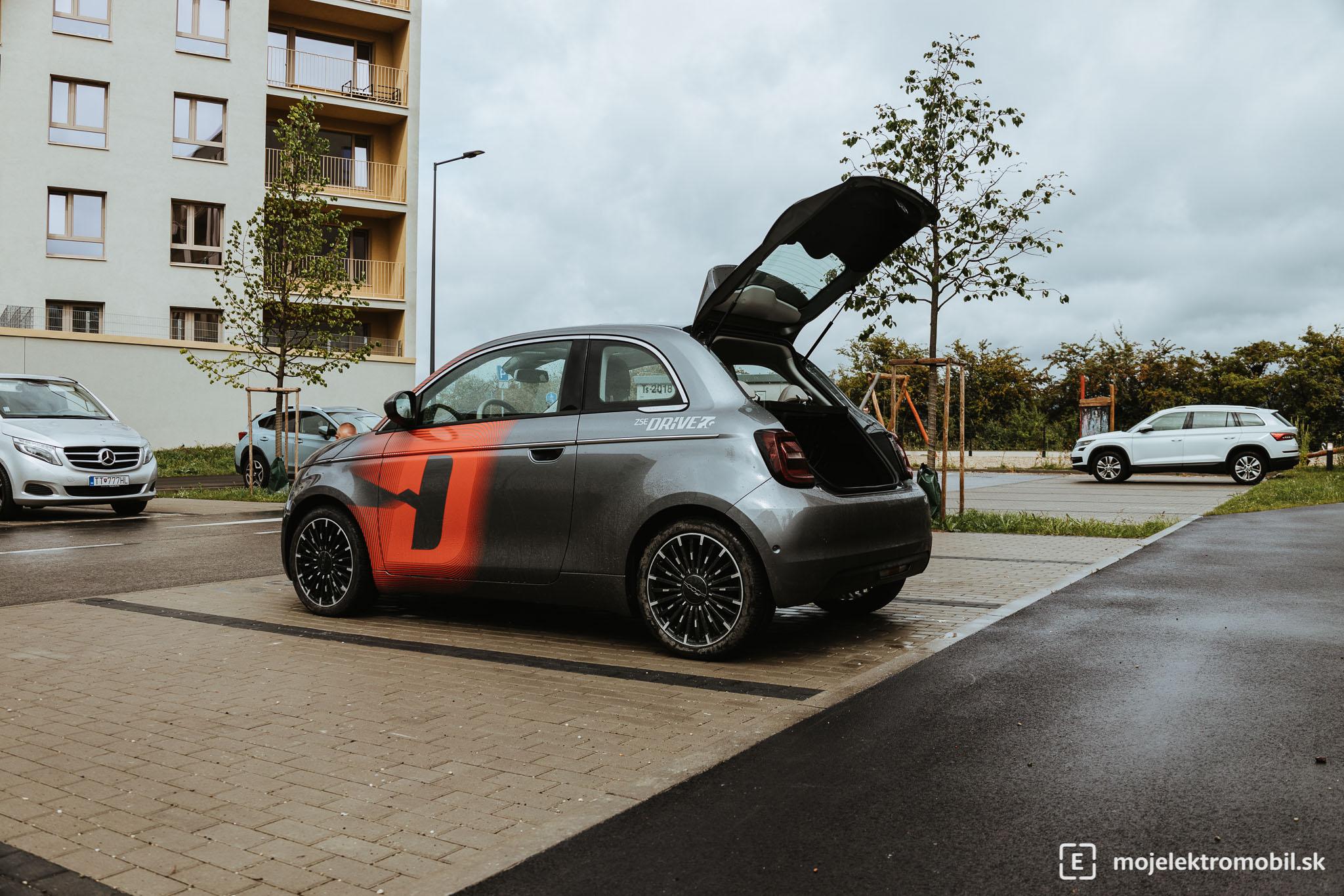 Fiat 500e test zse