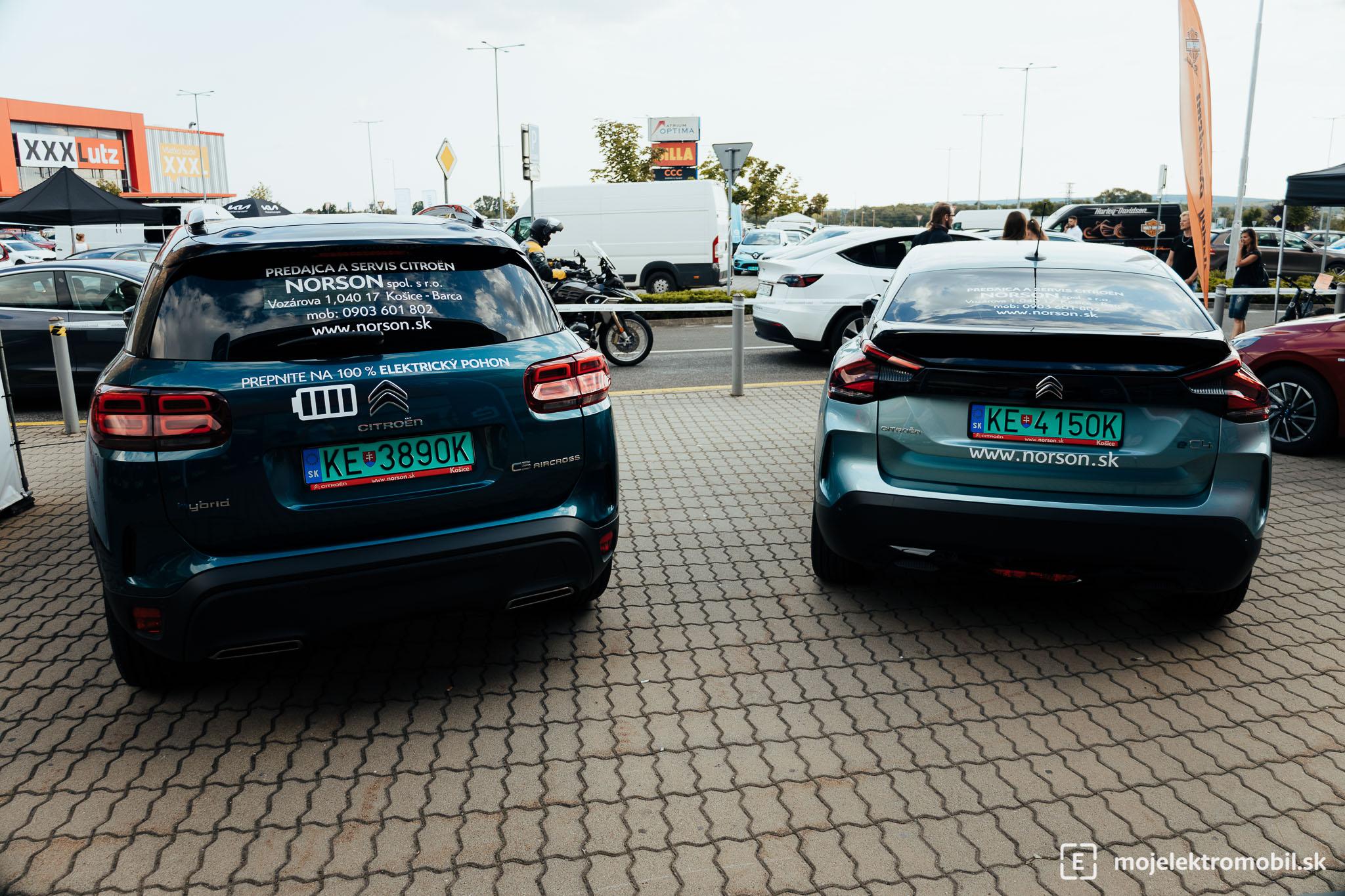 Citroen Salon elektromobilov 2021 Kosice