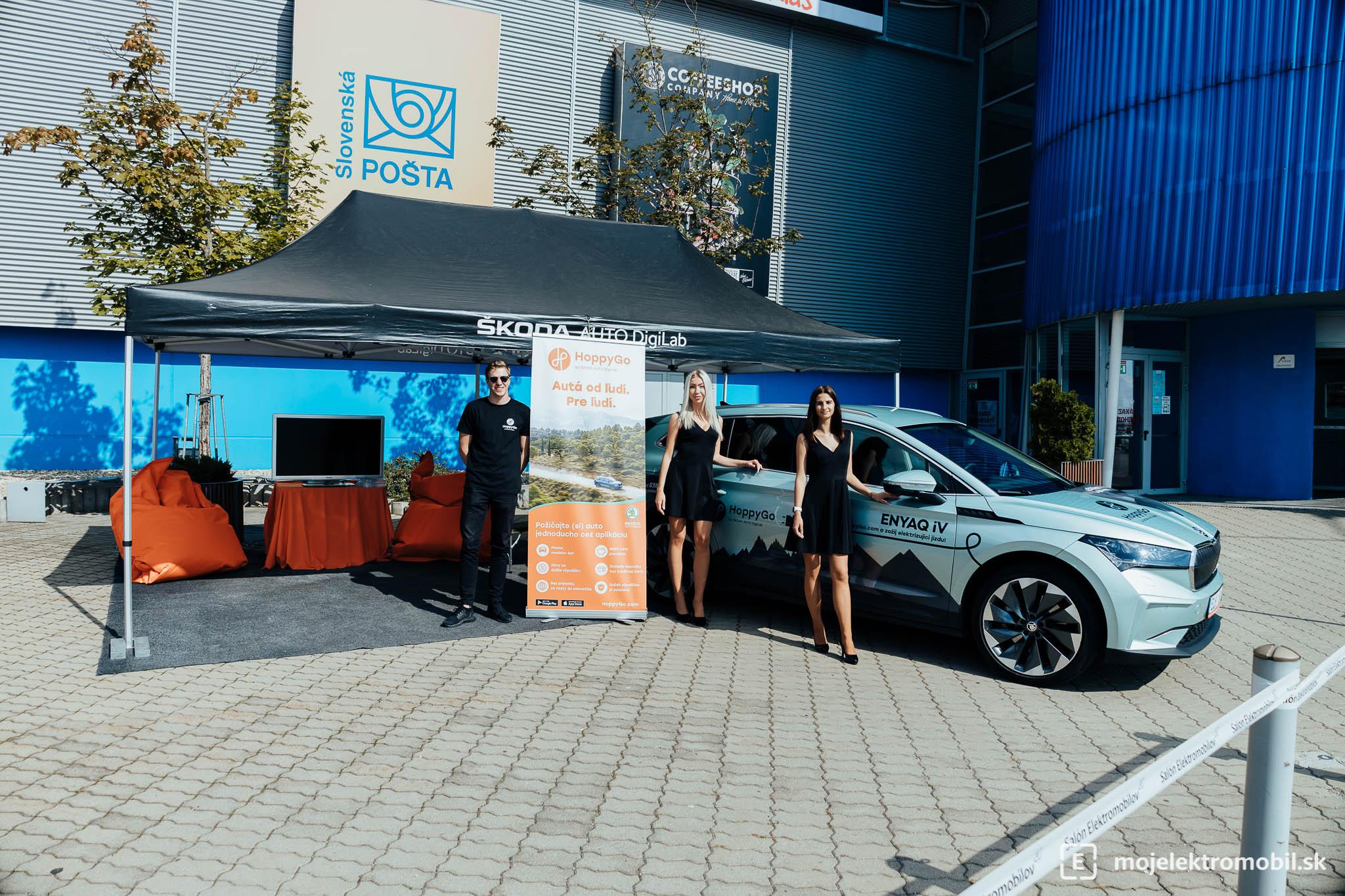 HoppyGo Salon elektromobilov 2021 Kosice