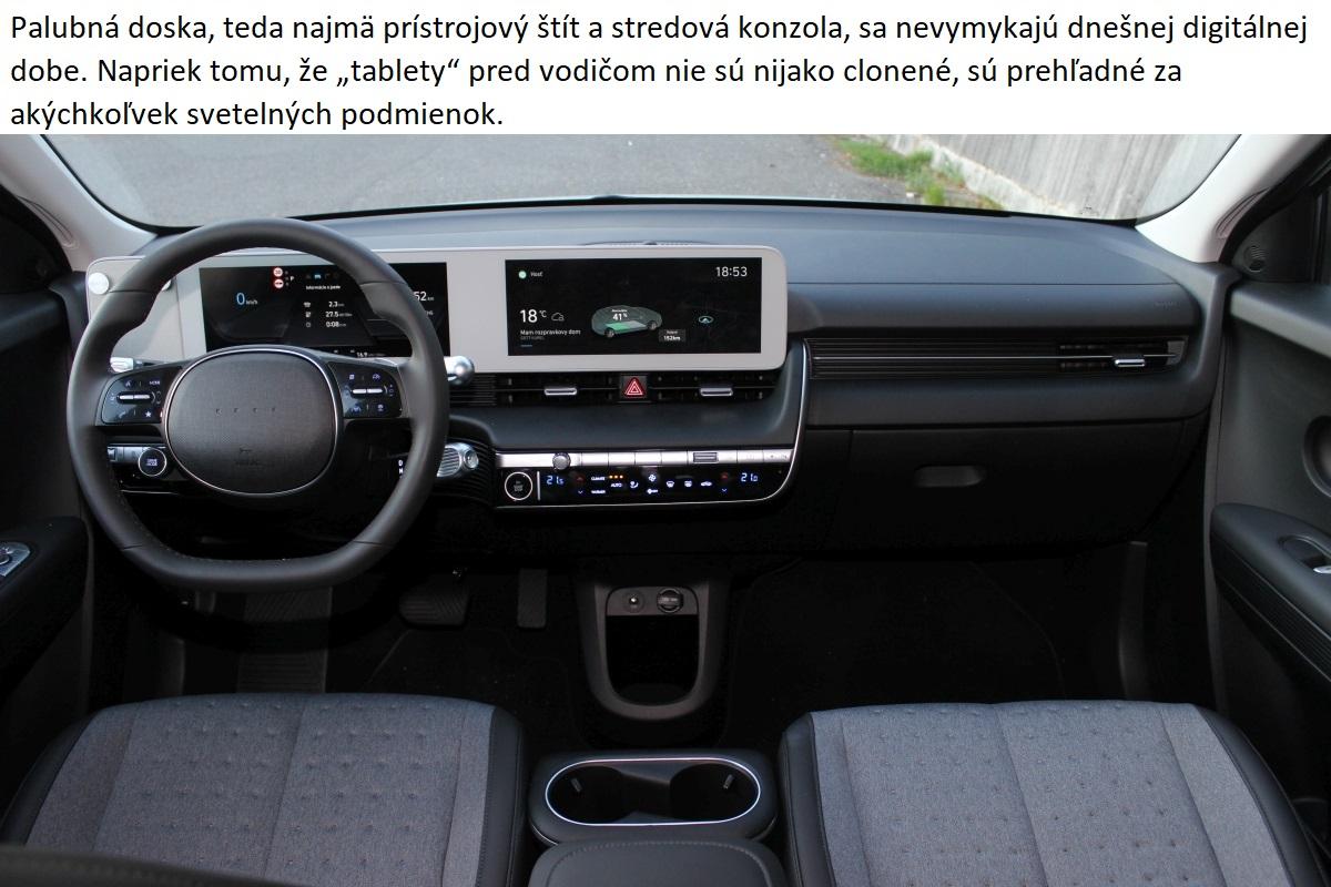Hyundai ioniq 5 palubna doska