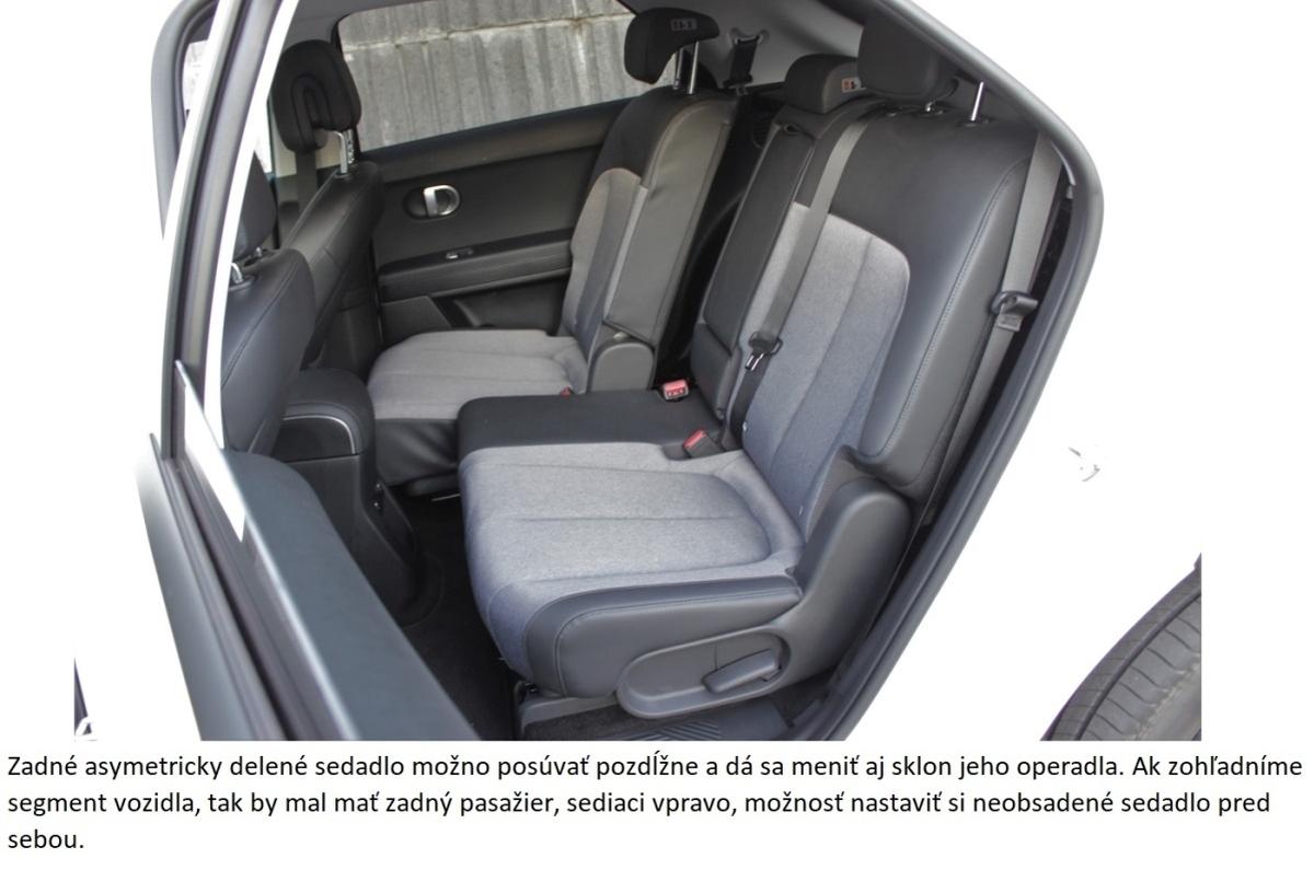 Hyundai Ioniq 5 zadne sedadla