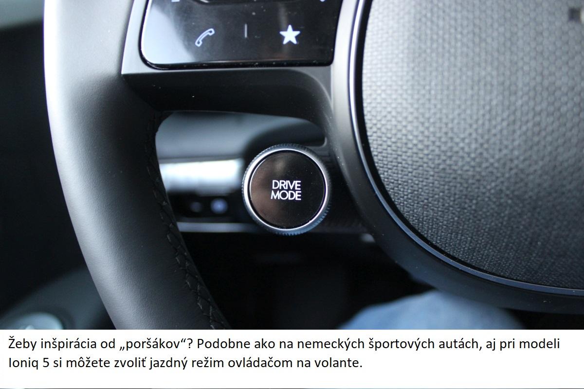 Hyundai Ioniq 5 jazdne rezimy