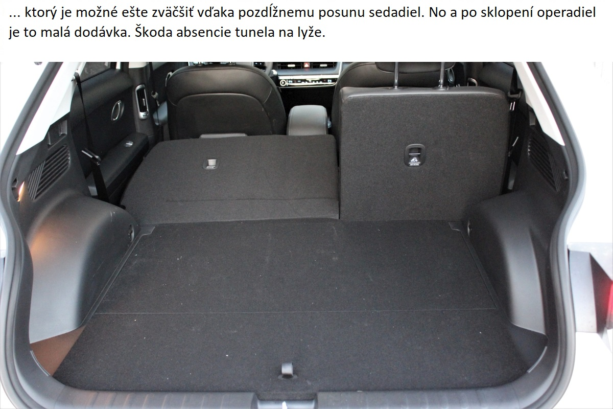 Hyundai Ioniq 5 sklopene sedadla