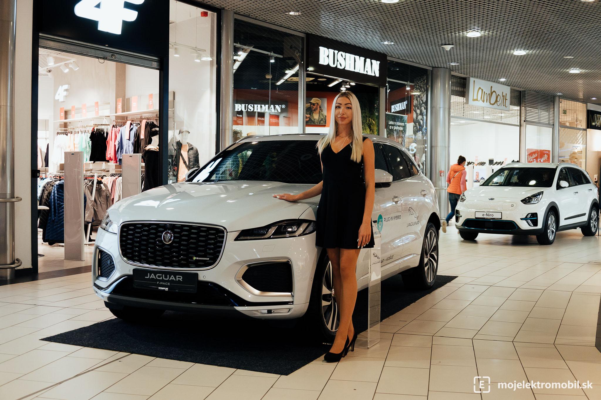 Jaguar Land Rover Salon elektromobilov 2021 Kosice