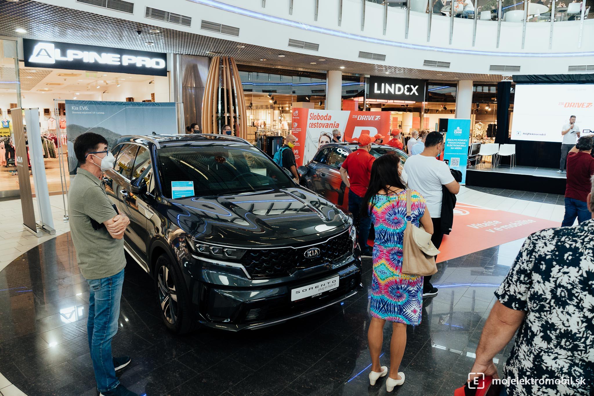 Kia Salon elektromobilov 2021 Kosice