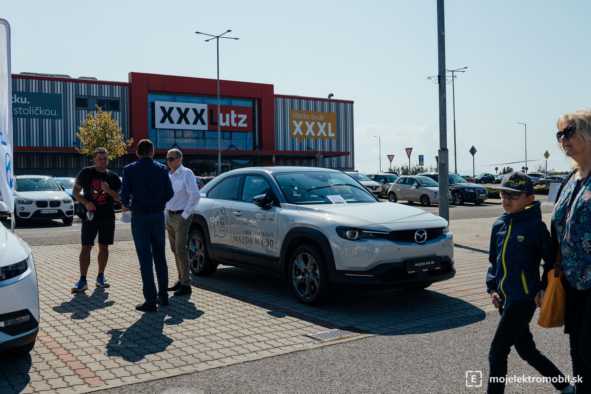 Mazda Salon elektromobilov 2021 Kosice