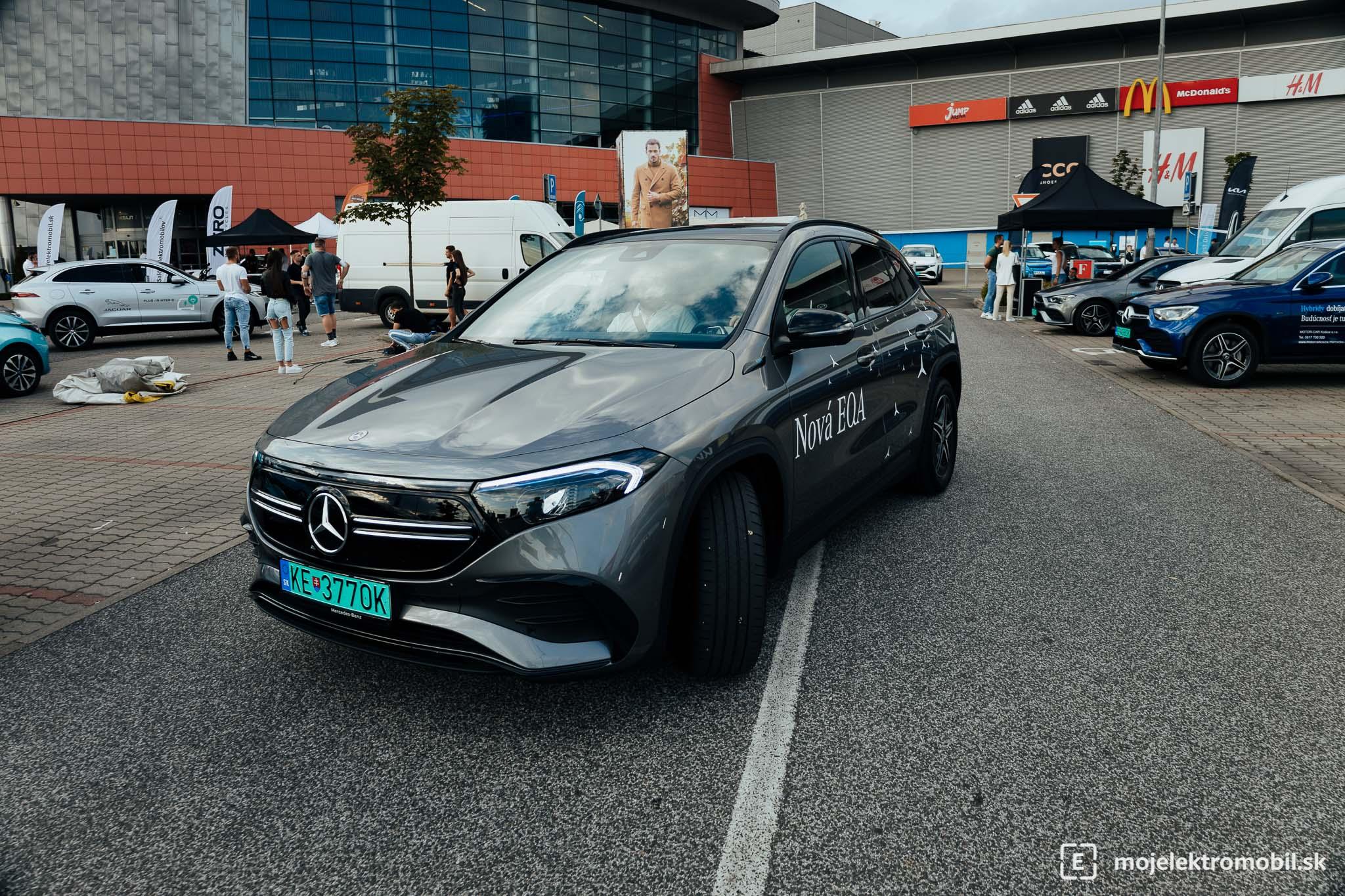 Mercedes Salon elektromobilov 2021 Kosice
