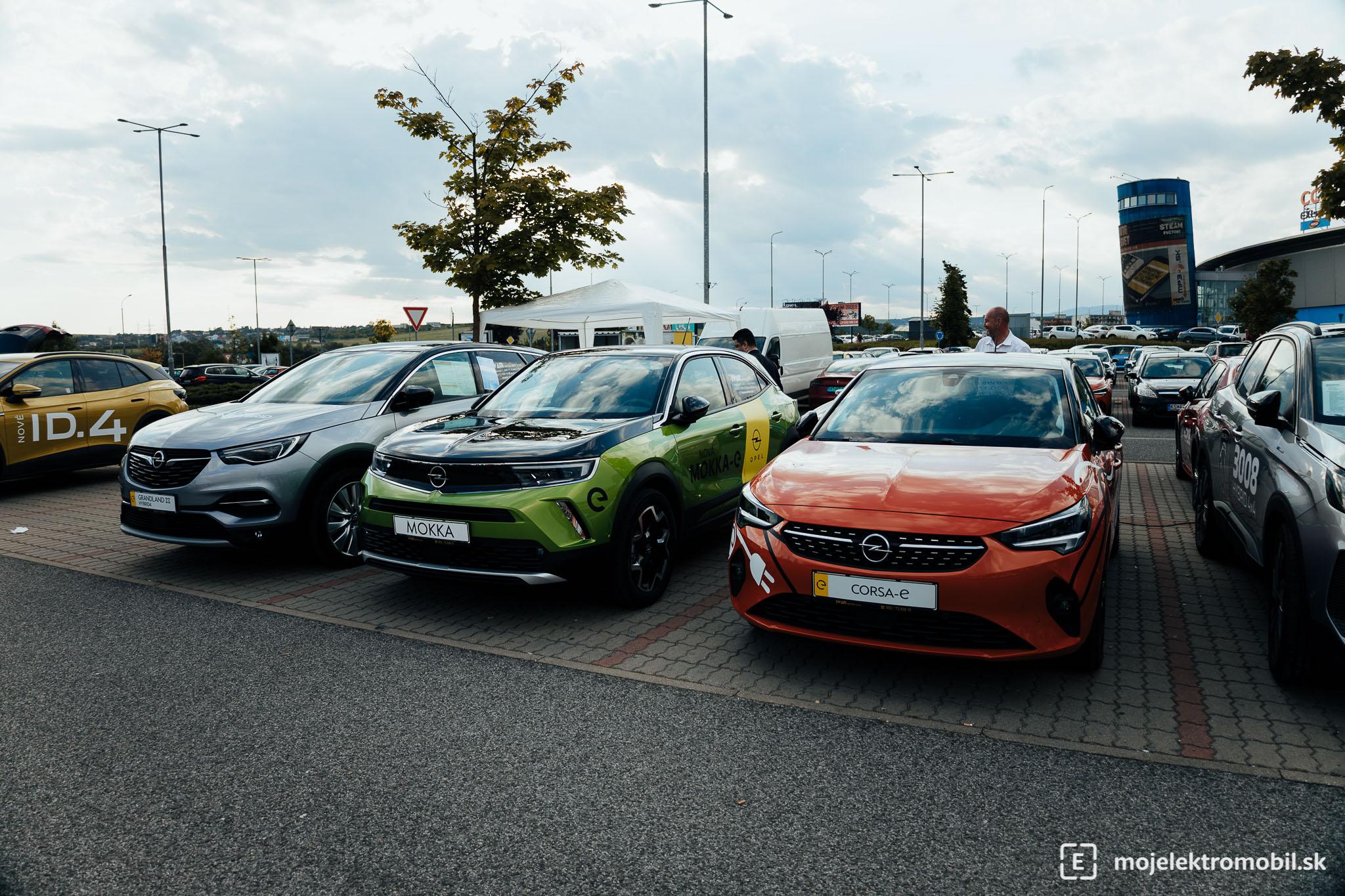 Opel Salon elektromobilov 2021 Kosice