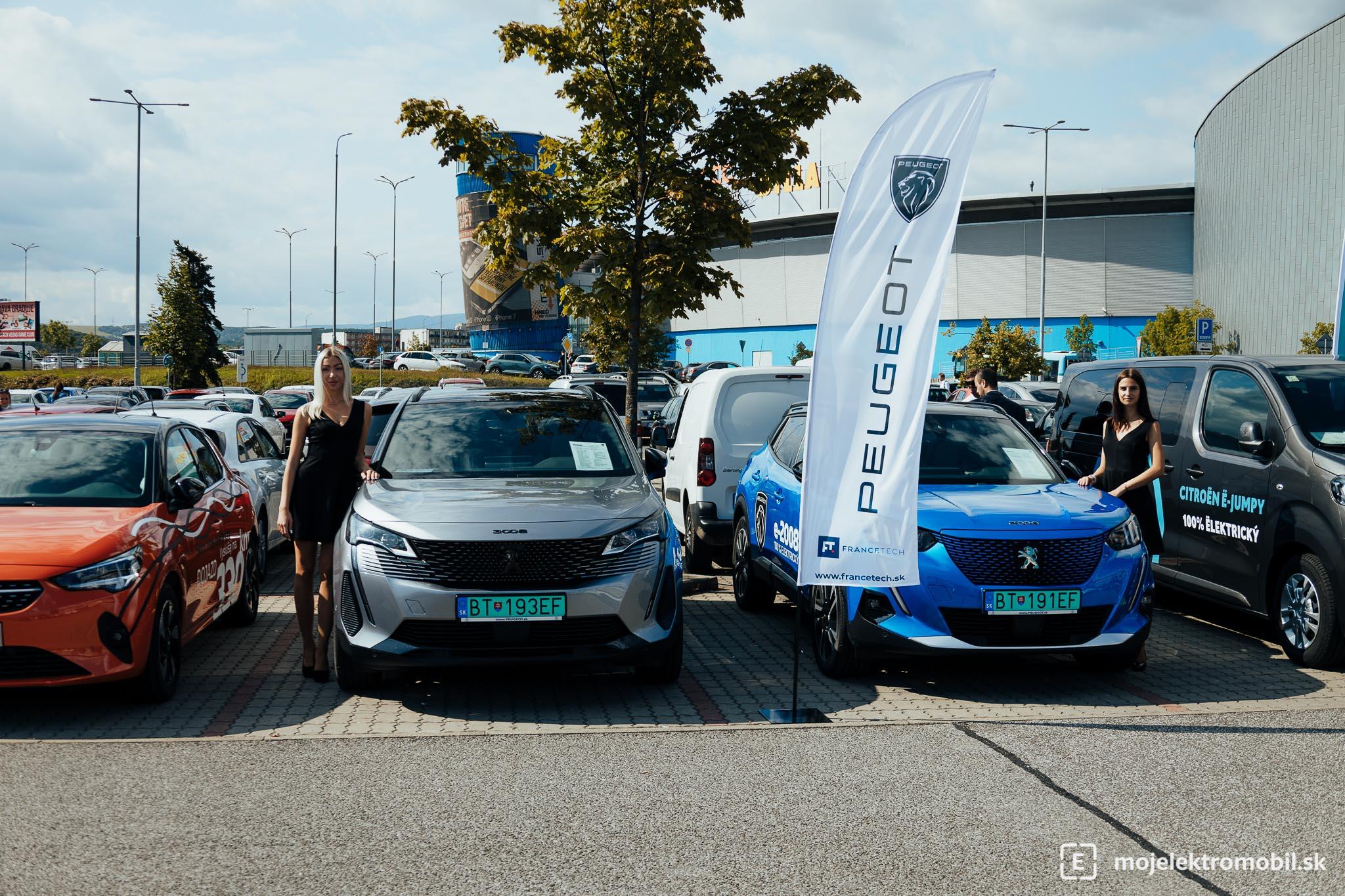 Peugeot Salon elektromobilov 2021 Kosice