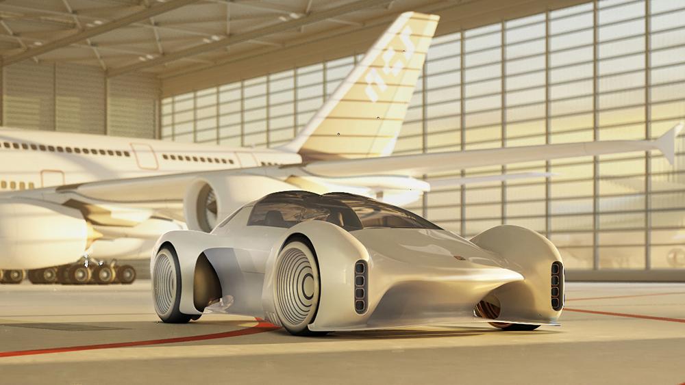 Porsche 411 koncept