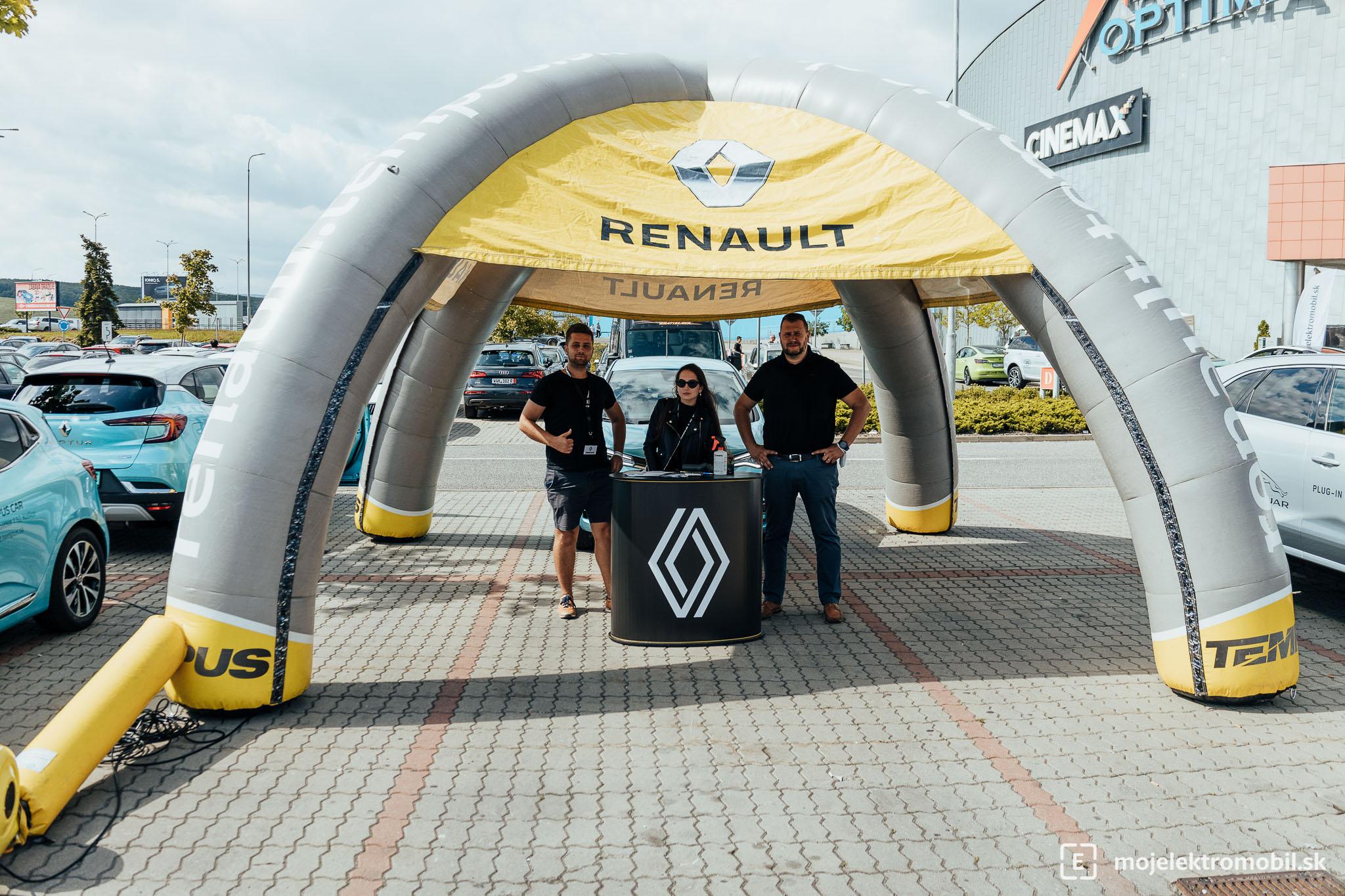 Renault Salon elektromobilov 2021 Kosice