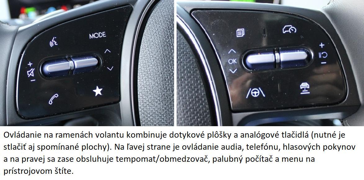 Hyundai ioniq 5 ovladanie na volante