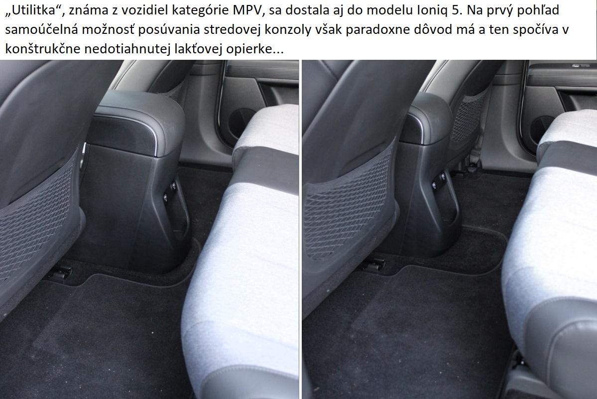 Hyundai Ioniq 5stredova konzola